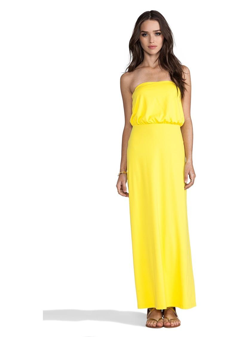 """Susana Monaco Light Supplex Blouson Tube 40"""" Dress"""
