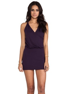 "Susana Monaco Light Supplex Jana 17"" Dress in Purple"