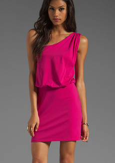 Susana Monaco Light Supplex Terry Dress in Fuchsia