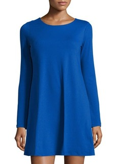 Susana Monaco Long-Sleeve A-Line Dress