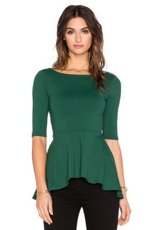 Susana Monaco Low Back Flare Top