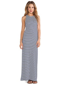 Susana Monaco Mae Maxi Dress in Navy