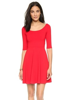 Susana Monaco Mini Flare Dress