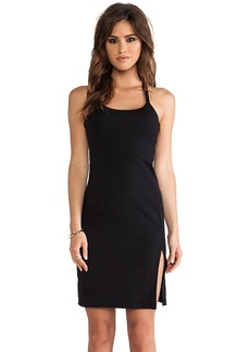 Susana Monaco Monica Cross Back Dress in Black