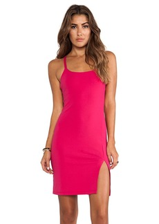 Susana Monaco Monica Cross Back Dress in Fuchsia
