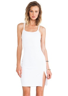 Susana Monaco Monica Cross Back Dress in White