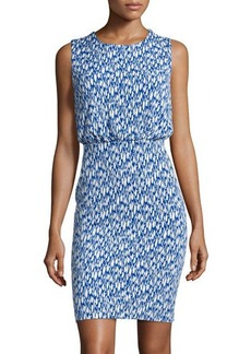 Susana Monaco Printed Sleeveless Blouson Dress