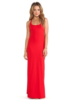 Susana Monaco Racer Maxi Dress in Red