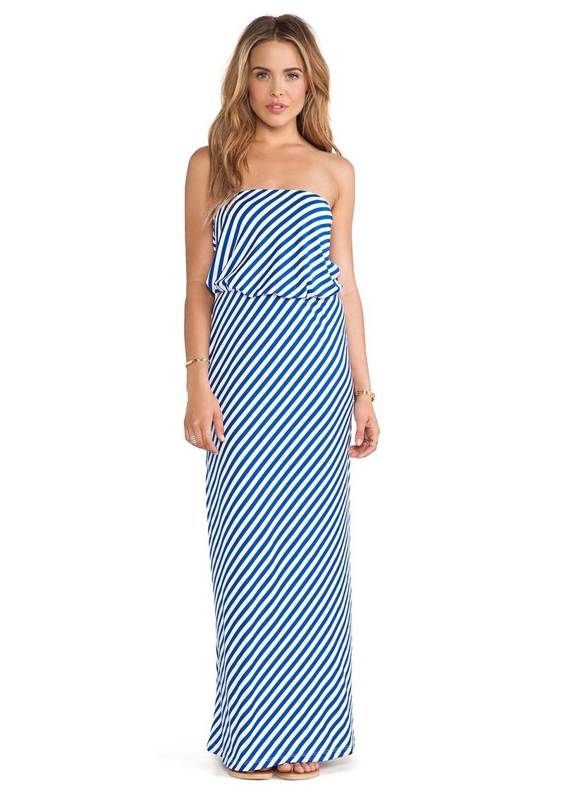 Susana Monaco Rita Strapless Maxi Dress