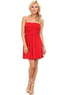 Susana Monaco Rouched Mini Dress