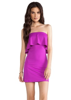 Susana Monaco Sansa Ruffle Top Strapless Dress