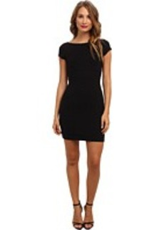 Susana Monaco Scoop Out Back Mini Dress