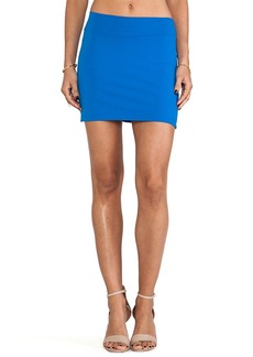 Susana Monaco Slim Skirt in Blue