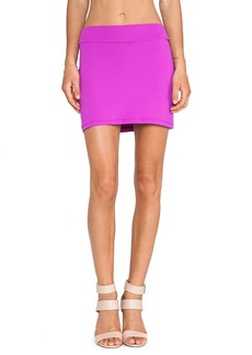 Susana Monaco Slim Skirt in Fuchsia
