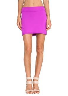 Susana Monaco Slim Skirt in Fuchsia
