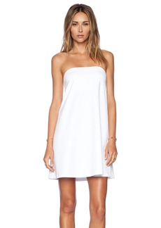 Susana Monaco Strapless Flare Dress