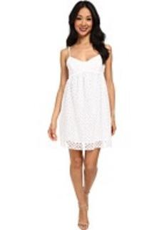 Susana Monaco String Eyelet Dress