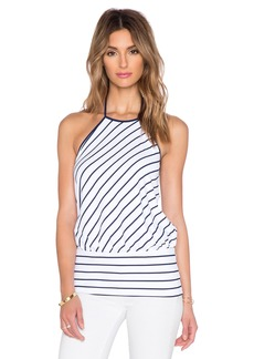 Susana Monaco Striped Halter Top