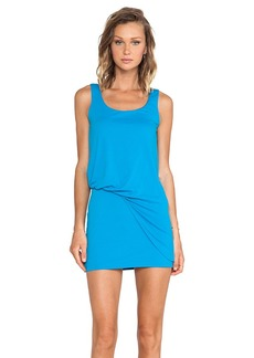 Susana Monaco Tank Tuck Dress in Blue