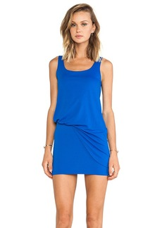 Susana Monaco Tank Tuck Dress in Royal