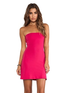 Susana Monaco Tube Dress in Fuchsia