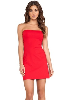 Susana Monaco Tube Dress in Red