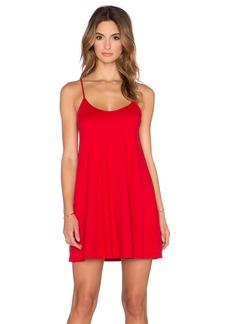 Susana Monaco V Neck Mini Dress
