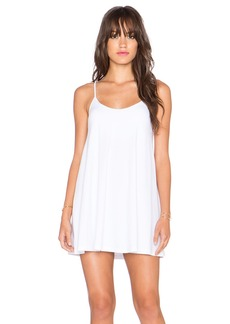 Susana Monaco V Neck Mini Dress