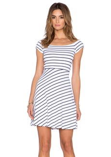 Susana Monaco Vanessa Striped Dress