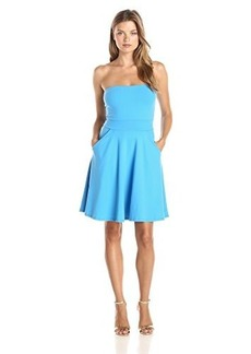 Susana Monaco Women's Brianne 20 Inch Tube Dress, Seascape, Small