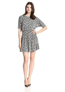 Susana Monaco Women's Drop Print Dolman 18 Inch Dress
