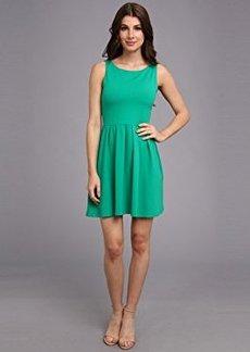 Susana Monaco Women's Edina Scoop Back Dress Nettle Dress SM