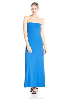Susana Monaco Women's Helena 42 Inch Strapless Maxi Dress, Starry Night, X-Small