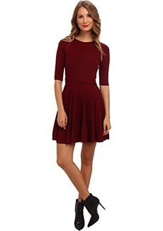 Susana Monaco Women's Katherine Dress Cranberry (Wine) Dress MD