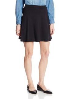 Susana Monaco Women's Light Supplex 17 Inch Circle Skirt, Black, Small