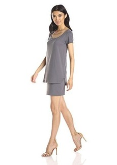 Susana Monaco Women's Lindzi 18 Inch Dress, Pigeon, X-Small