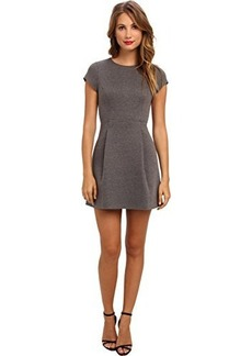 Susana Monaco Women's Marlene Dress Melange Sidewalk (Gray) Dress 8