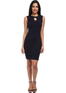 Susana Monaco Women's Open Seam Dress Midnight Dress LG
