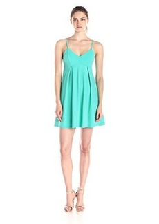 Susana Monaco Women's Supplex Elle 18 Inch Dress, Beach Glass, Medium