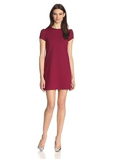 Susana Monaco Women's Supplex Lauren Short-Sleeve Dress
