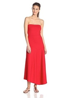 Susana Monaco Women's Supplex Maria 34-42 Inch Strapless Maxi Dress
