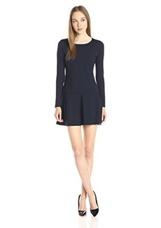 Susana Monaco Women's Supplex Pixie 18 Inch Dress, Midnight, Medium