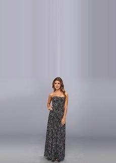 Susana Monaco Women's Taylor Maxi Dress Black Dress LG