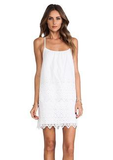 Susana Monaco Yumiko Eyelet Dress in White