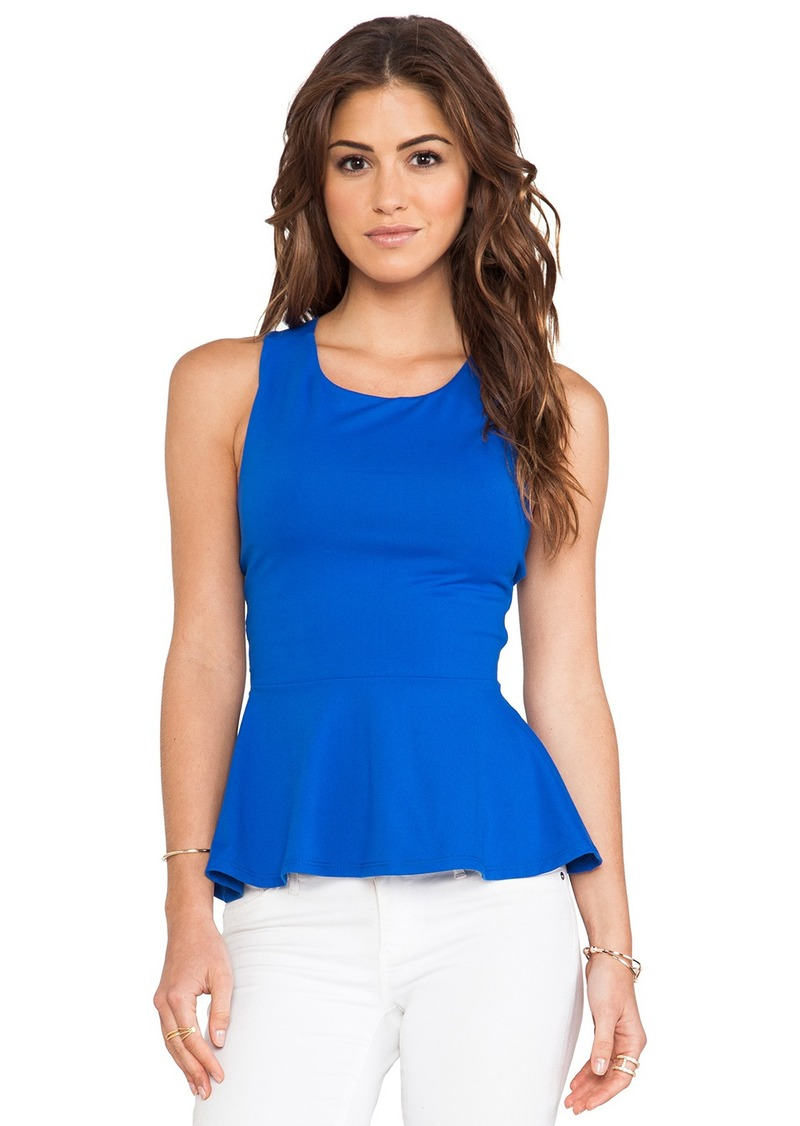 Susana Monaco Zoe Cross Back Tank