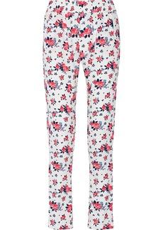 T-Bags Floral-print woven pants