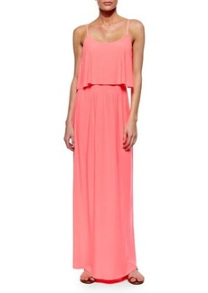 T-Bags Flowy-Bodice Maxi Dress