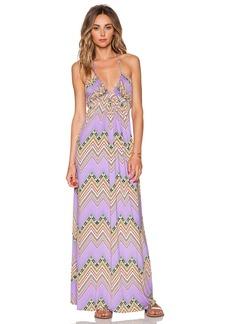T-Bags LosAngeles Braided Halter Maxi Dress