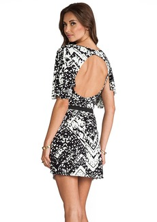 T-Bags LosAngeles Circle Cut Out Dress in Black