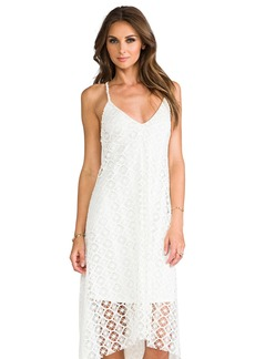 T-Bags LosAngeles Crochet Asymmetrical Dress